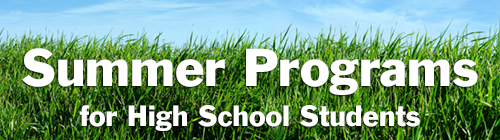 Summer Enrichment Programs for Students