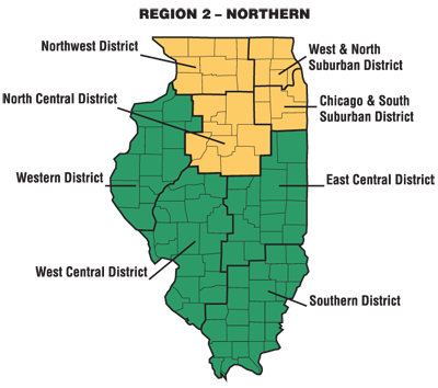 Alfa Img  Showing Gt Illinois School District Boundaries