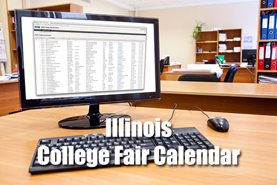 Illinois College Fair Calendars
