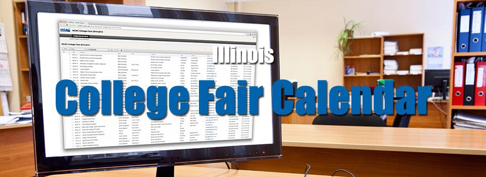 Illinois College Fair Calendar