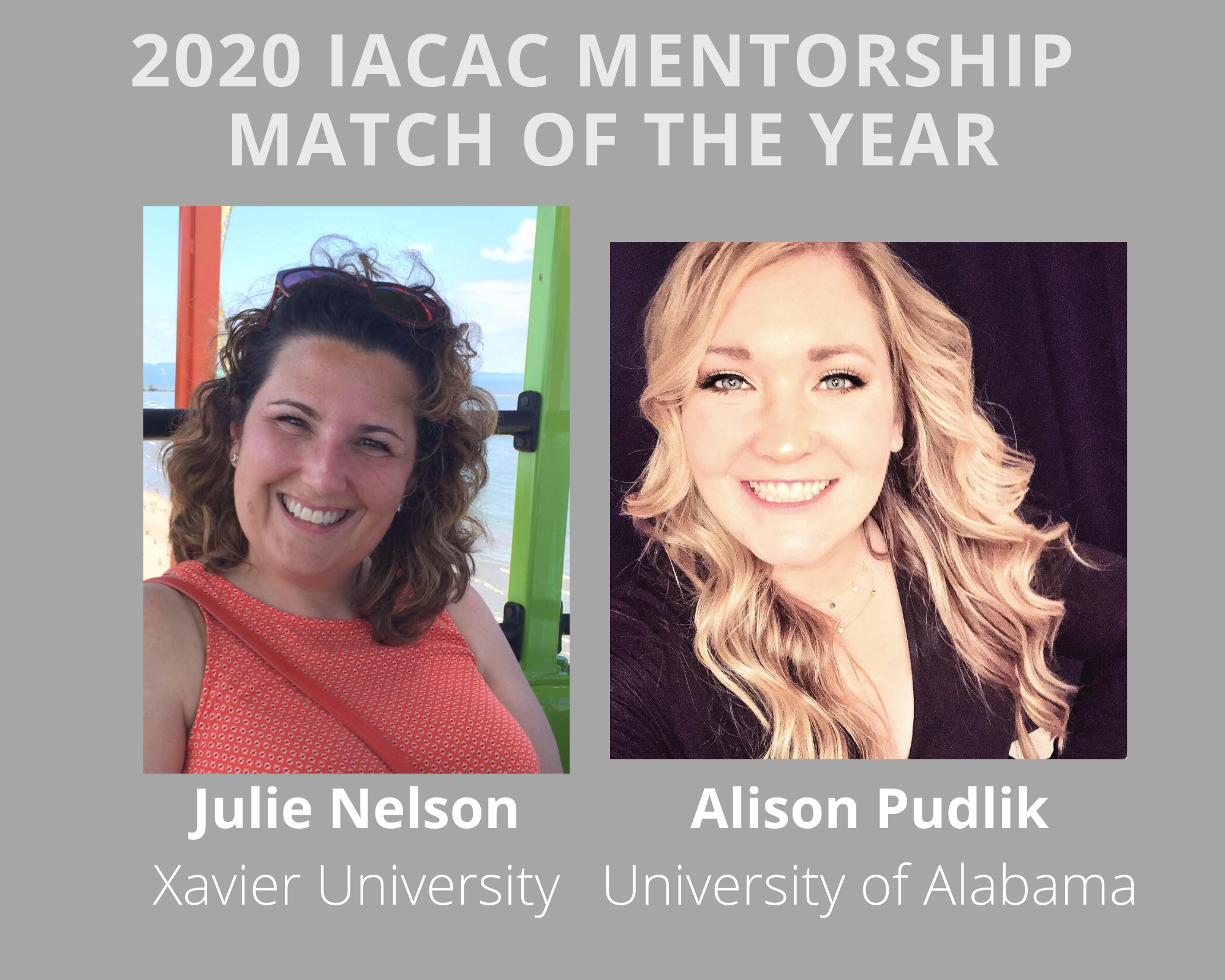 2020 Mentorship Match Of The Year