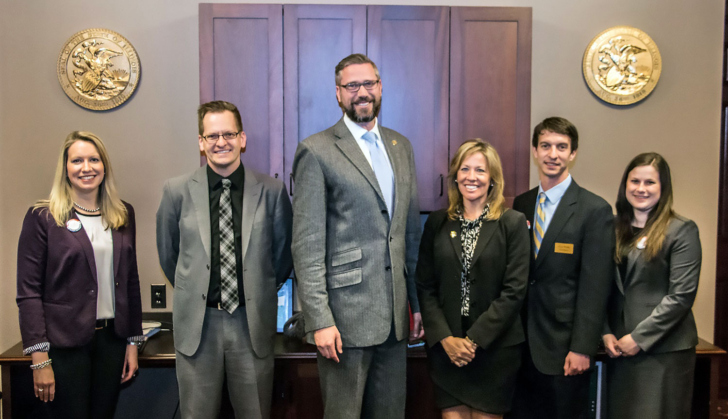 Advocacy Day – Illinois Treasurer Michael Frerichs 1500