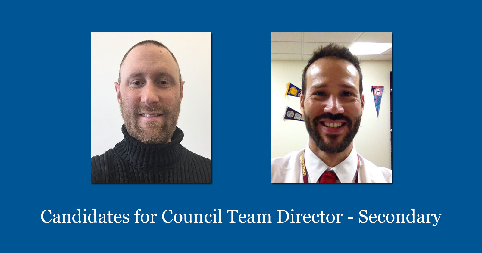 Candidates For Council Team Director Secondary 2016