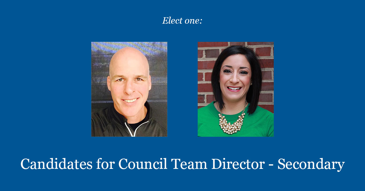Candidates For Council Team Director - Secondary 2017