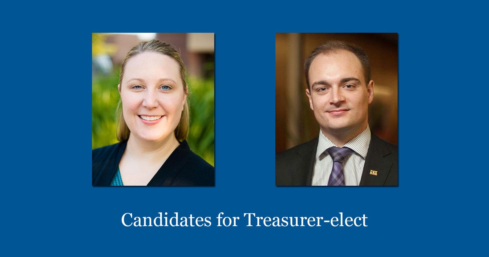 Candidates For Treasurer-elect 2016-2017