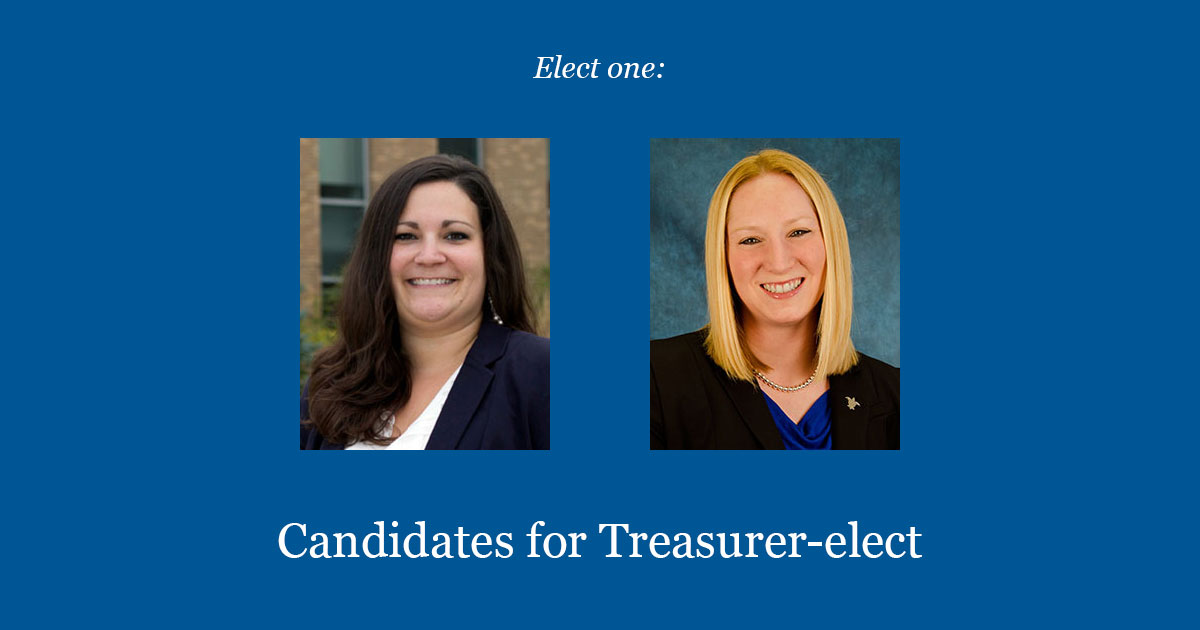 Candidates For Treasurer-elect 2017-2018