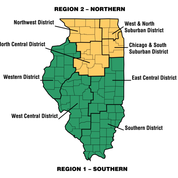IACAC District Map