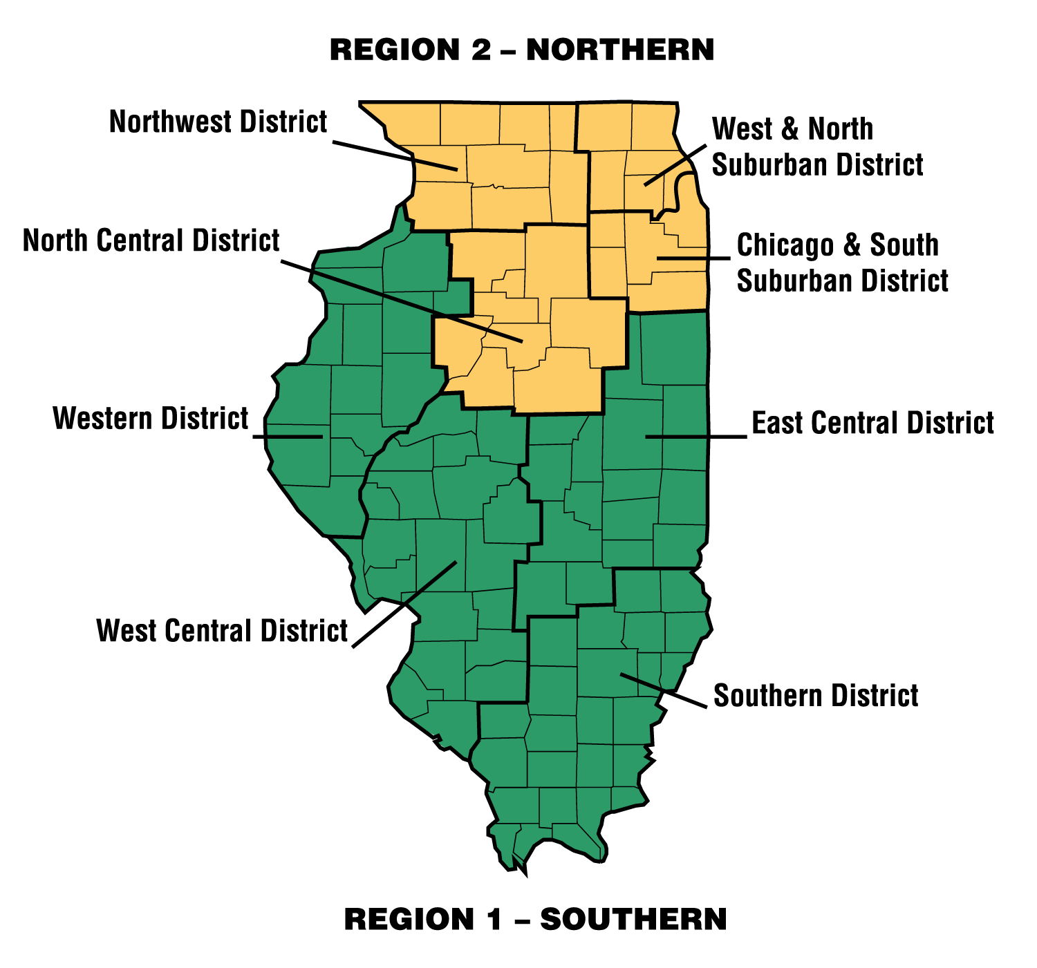 Northwest Chicago Map.District Map Iacac