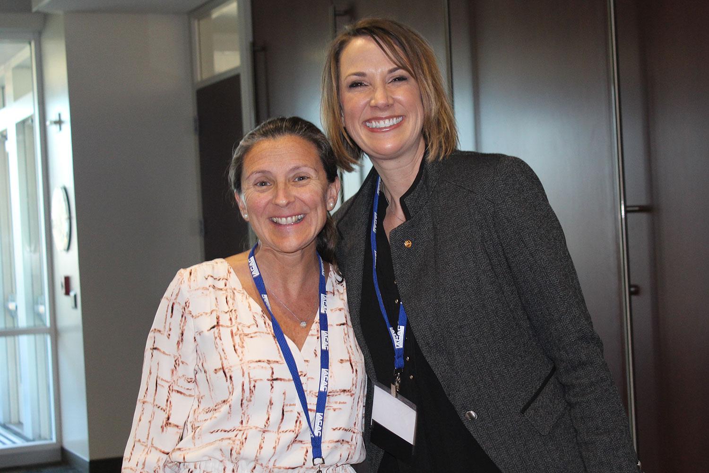 Dr. Aliza Gilbert and Julie Marlatt