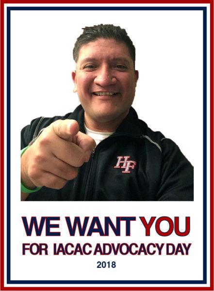Roberto Suarez - Advocacy Day We Want You