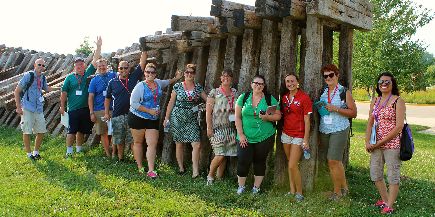 Micro Bus Summer Counselor Tour 2014