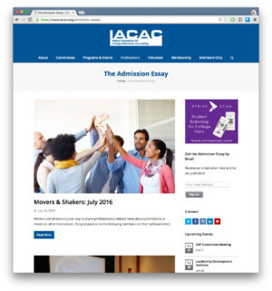 IACAC Advertising Ads Sidebar Medium Rectangle